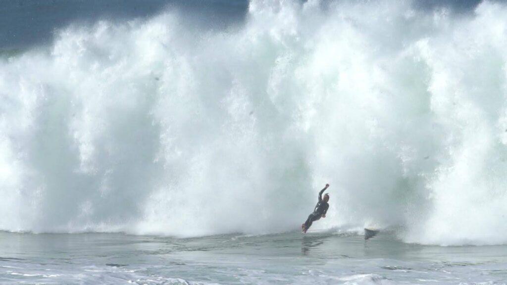 Antonio Neto surfing Pico do Futuro, Ericeira