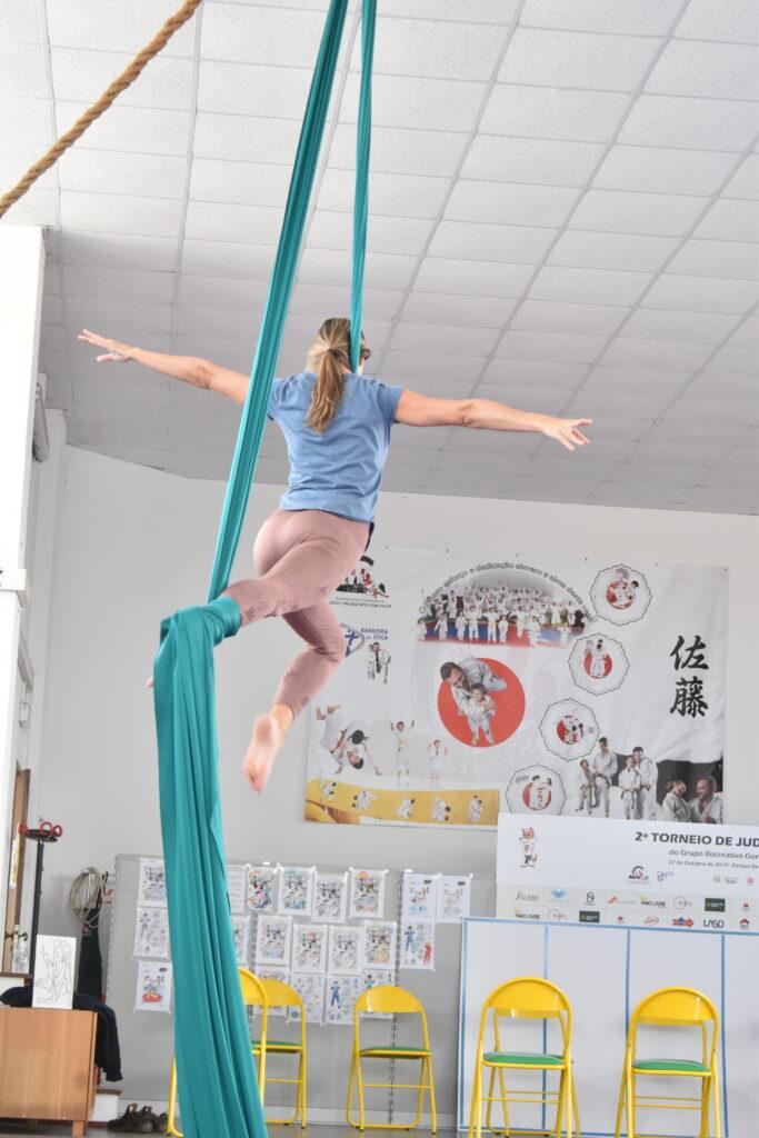 tecido acrobatico Mafra