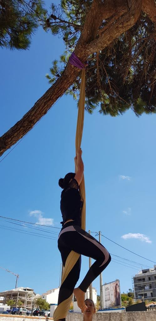 tecido acrobatico Ericeira