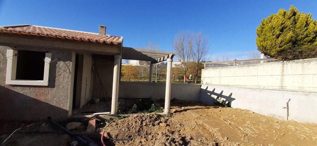 Construction building site - Summer house