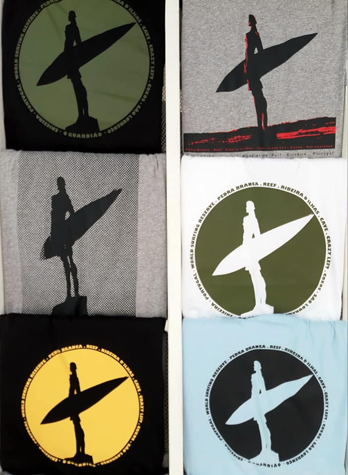 The Guardian T-shirts and hoodies - Courtesy of Jose and Catarina Queiroz