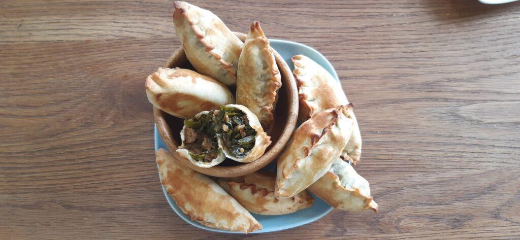 Chinese Chives & homemade seitan