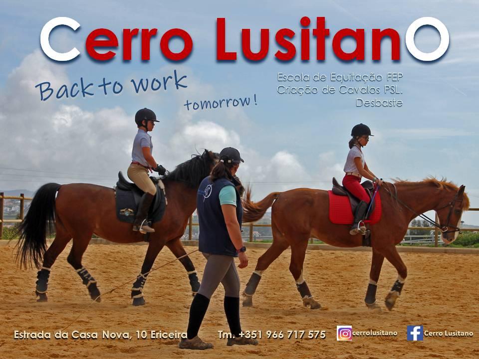Children's Sports - Horse riding lessons - Cerro Lusitano Courtesy