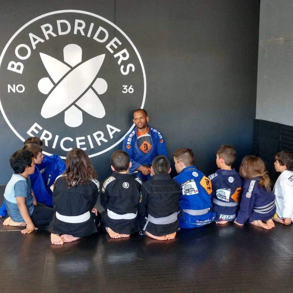 Jiu Jitsu class at BoardRiders Ericeira