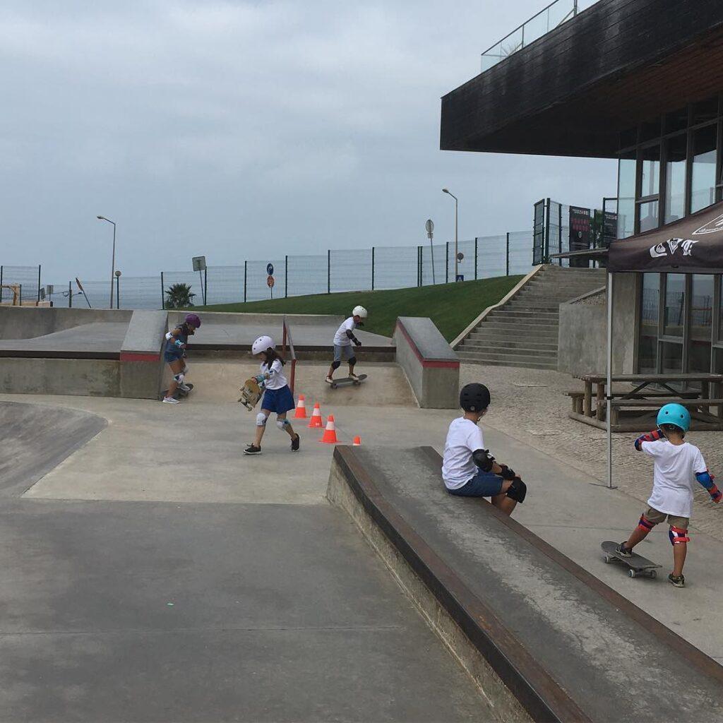 36 Skate School courtesy - Children's sports class