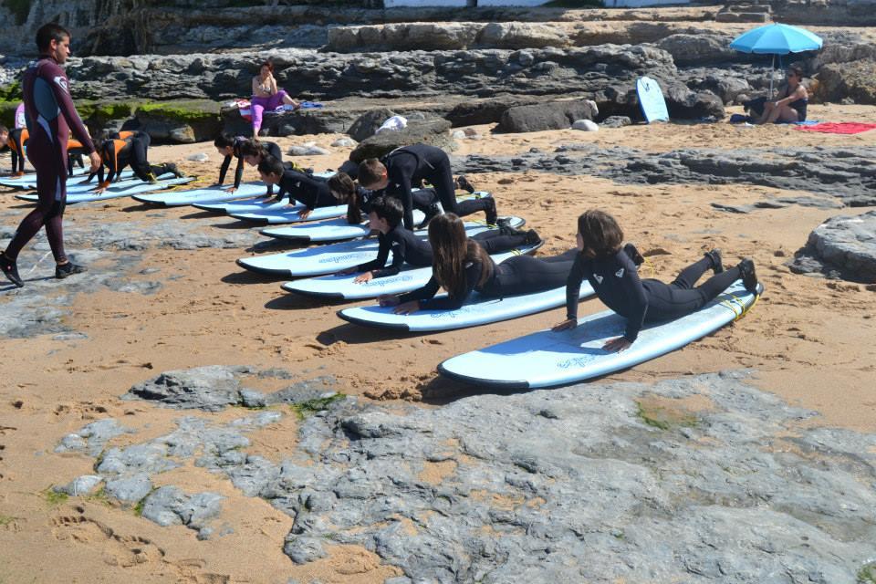 Tiago Pires Surf School - Praia do Matadouro