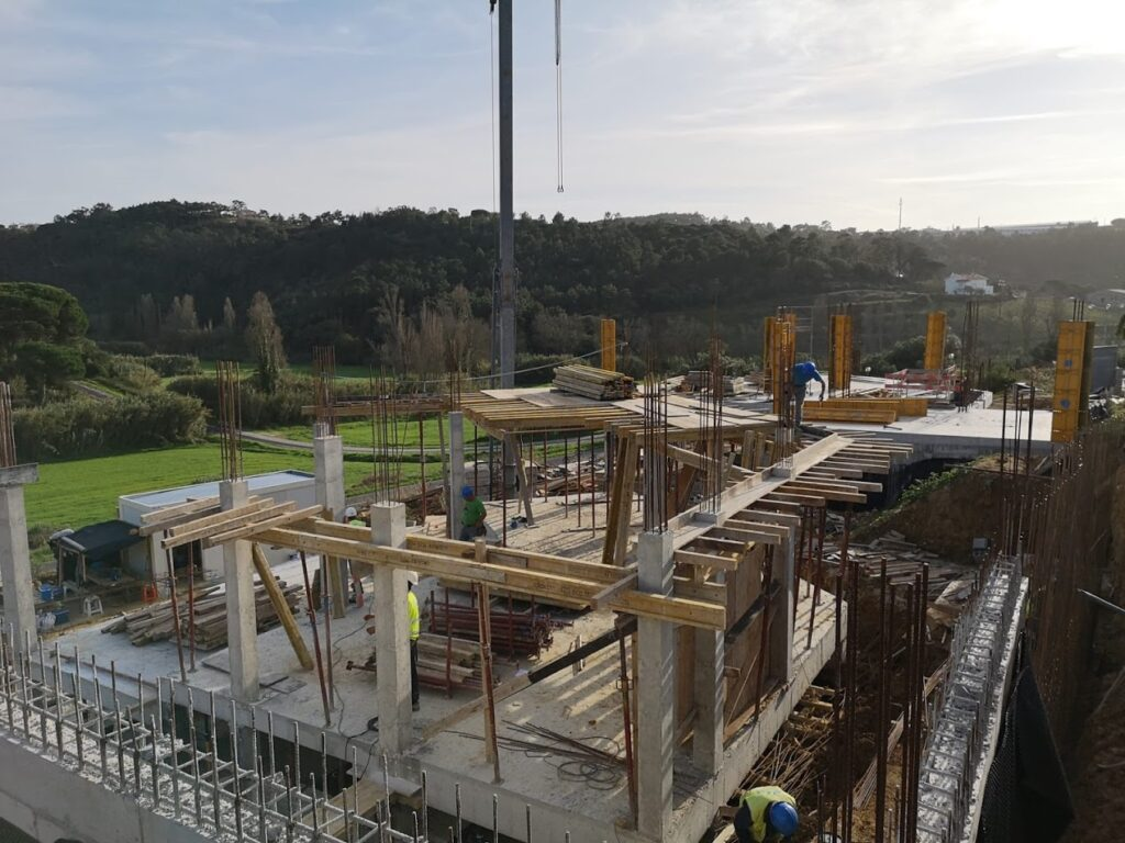 construction in Ericeira by NOCNOC Studio